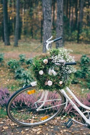 wianki, Babie lato, ślub, dekoracje, florystyka