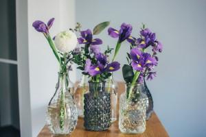 targi, babie lato, irys, kwiaty, ślub
