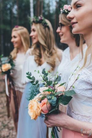 ślub, kwiaty, wesele, panny młode, bukiet ślubny
