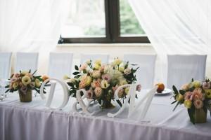 kwiaty, kraków, dekoracja wesela, kwiatowe dekoracje, ślub, babie lato